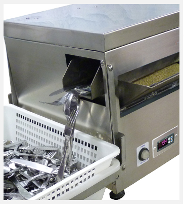 cutlery polisher machine